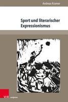 Sport und literarischer Expressionismus PDF