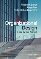 Organizational Design PDF