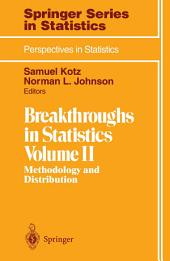 Breakthroughs in Statistics: Methodology and Distribution
