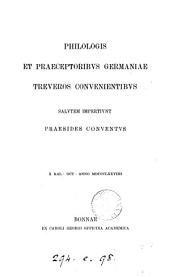 Senecae epistulas aliquot ed. F. Buecheler