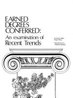 Earned Degrees Conferred PDF