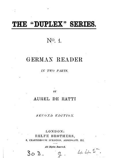 German reader PDF