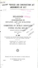Library Services and Construction Act Amendments of 1977 PDF