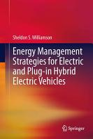 Energy Management Strategies for Electric and Plug in Hybrid Electric Vehicles PDF