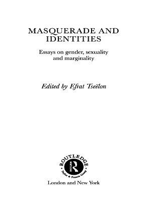 Masquerade and Identities PDF