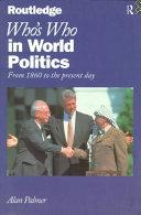 Who s who in World Politics PDF