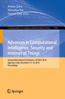 Advances in Computational Intelligence  Security and Internet of Things PDF