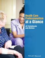 Health Care Professionalism at a Glance PDF