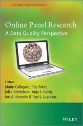 Online Panel Research: A Data Quality Perspective