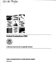 Federal Evaluations PDF