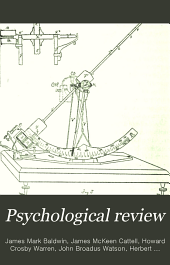 Psychological Review: Volume 7