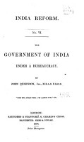 The Government of India Under a Bureaucracy PDF