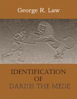 Identification of Darius the Mede PDF