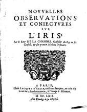 Nouvelles observations et conjectures sur l'Iris