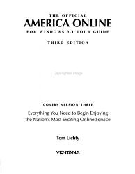 The Official America Online for Windows 3 1 Tour Guide PDF
