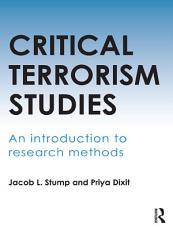 Critical Terrorism Studies PDF