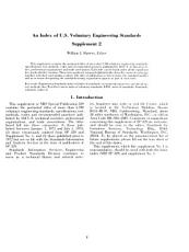 An Index of U S  Voluntary Engineering Standards  Supplement PDF