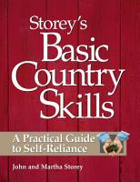 Storey s Basic Country Skills PDF
