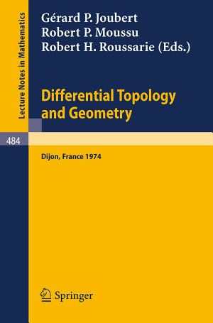 Differential Topology and Geometry