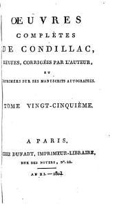 Œuvres complètes de Condillac: Histoire moderne
