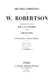 Oeuvres complètes de W. Robertson: Volume2