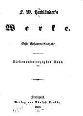 F.W. Hackländer's Werke: Bände 47-48