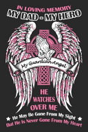 In Loving Memory My Dad My Hero My Guardian Angel He Watches Over Me He May Be Gone from My Sight But He Never Gone From