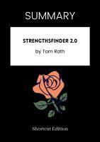 SUMMARY   StrengthsFinder 2 0 By Tom Rath PDF