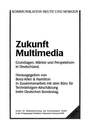 Zukunft Multimedia PDF
