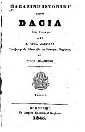 Magazinu istoriku pentru Dacia: Volumul 1