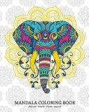 Mandala Coloring Book Animals - Insects - Fruits - Aquatic