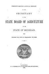 Report of the Secretary: Volume 22