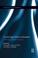 Conserving Cultural Landscapes PDF