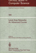 Local Area Networks: An Advanced Course