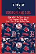 Trivia Of Boston Red Sox