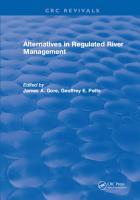 Alternatives in Regulated River Management PDF