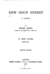 New Grub Street: A Novel, Volume 3