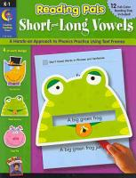 Short and Long Vowels PDF