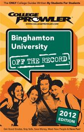 Binghamton University 2012