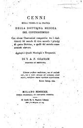 Sulle opere mediche del D.r Giovanni Rasori e sulla nuova dottrina del contro-stimolo saggio del D.r Gaspare Federigo ...