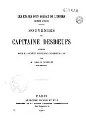 Les étapes d'un soldat de l'Empire: 1800-1804