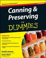 Canning and Preserving For Dummies PDF