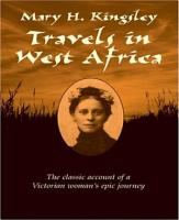 Travels in West Africa PDF