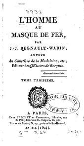 L'homme au masque de fer: Volumes3à4