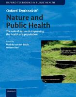 Oxford Textbook of Nature and Public Health PDF