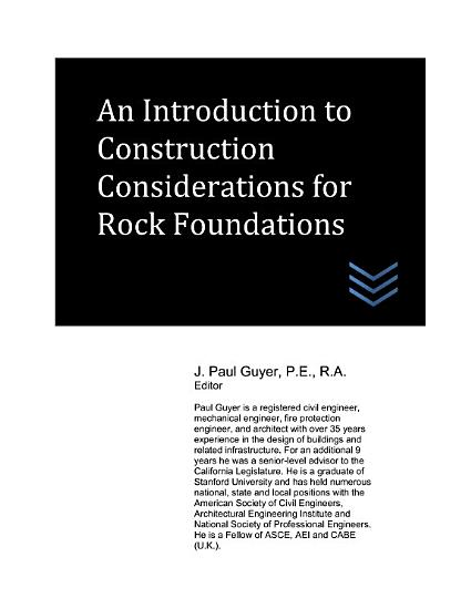 An Introduction to Construction Considerations for Rock Foundations PDF
