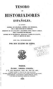 Tesoro de historiadores españoles ...