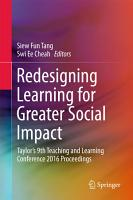 Redesigning Learning for Greater Social Impact PDF