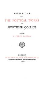 Selections from the Poetical Works of Mortimer Collins