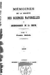 Mémoires de la société des sciences naturelles et archéologiques de la Creuse, Guberet: Volume5